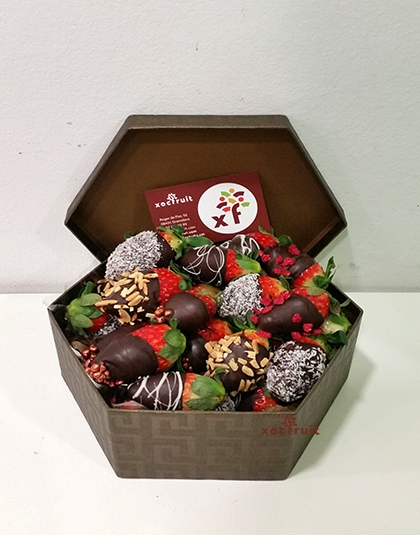 FruitBox fresas con chocolate
